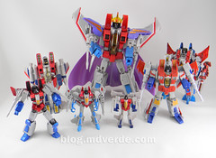 Transformers Starscream Legends - Transformers Generations Takara - modo robot vs otros Starscream (mdverde) Tags: transformers starscream decepticons generations takara masterpiece g1 encore revoltech revealtheshield classics warforcybertron