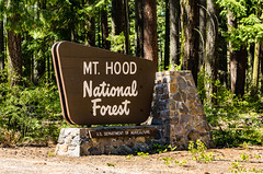Mt. Hood National Forest (Tony Webster) Tags: maupin mounthood mounthoodnationalforest mthood mthoodnationalforest oregon usdepartmentofagriculture usda wapinitiahighway entrance nationalforest sign unitedstates us