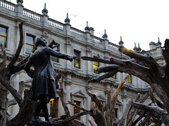 Reynolds Fighting the Branches (failing_angel) Tags: 181116 london cityofwestminster royalacademy aiweiwei piccadilly tree treesections joshuareynolds alfreddrury