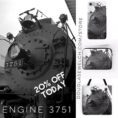 Add these Engine 3751 products to your collection and share them with friends - Visit http://ift.tt/1hfrEWq to order today #steam #engine #steamengine #rail #railroad #bw #blackandwhite #blackandwhitephotography #home #technology #arts #crafts #clothing (dewelch) Tags: ifttt instagram add these engine 3751 products your collection share them with friends visit douglasewelchcomstore order today steam steamengine rail railroad bw blackandwhite blackandwhitephotography home technology arts crafts clothing