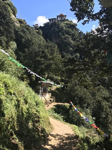 Hiking to Taktsang