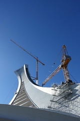 Tour de Montral @ Olympic Stadium @ Montreal (*_*) Tags: montreal mtl canada quebec northamerica 2016 autumn fall automne october city sunny morning hochelaga maisonneuve olympic stadium tower inclined tourdemontreal