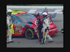 2006 Pocono 500 Jeff Gordon Hard Crash (buyjeffgordon) Tags: 24 jeffgordonracing 2006 500 crash cup gordon hard hendrick impact jeff jeffgordon letarte motorsports nascar nation nextel pocono rick series sprint steve wide