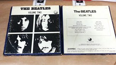 the beatles - volume two (Dario Nardacci) Tags: beatles volume due white album pre recorded tapes 7 12 4 tracks apple ampex stereo