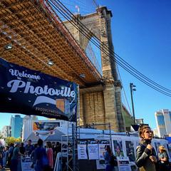 Photoville 2016 (shimamoon) Tags: photoville2016 photography brooklyn brooklynbridgepark newyorkcity nyc newyork ny sky square iphoneography instagramapp iphonephotography iphone6 brooklynbridge photoeville sunny park