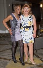 Kacey & Julie! (kaceycd) Tags: crossdress tg tgirl lycra spandex minidress pantyhose pumps peeptoepumps opentoepumps highheels stilettoheels sexypumps stilettos s