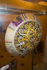 Sarawak bead sun hat (quinet) Tags: 2015 aborigne borneo iban korbflechterei kuching kuchingtextilemuseum malaysia perlen sarawak ureinwohner aboriginal basket basketweaving beads native perles textile textiles vannerie