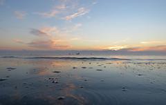 IMG_0001x (gzammarchi) Tags: italia paesaggio natura mare ravenna lidodidante alba nuvola riflesso