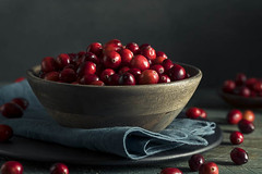 Raw Organic Red Cranberries (brent.hofacker) Tags: autumn berries berry bright closeup color cranberries cranberry decorative delicious dessert focus food fresh freshness fruit harvest health healthy heap holiday ingredient juicy lifestyle lingonberry natural nature organic plant raw red refreshment ripe seasonal sour spoon sugary sweet tasty thanksgiving vegetarian vitamin wild wood wooden