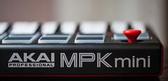 Akai MPK Mini (yekim sicap) Tags: akai akaimpkmini keyboard midi midikeyboard