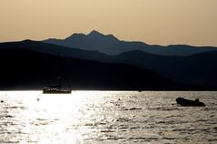 Zuccale. (LucaBertolotti) Tags: toscana sea water isoladelba elba isola island italia italy mare reflections sunset boats capoliveri summer