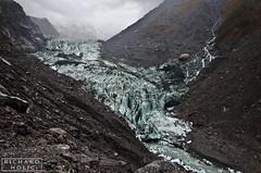 Franz Josef Glacier (Richard Holic) Tags: richard holic richardholic new zealand newzealand west coast glacier nikon d7000 nikond7000 1685 photoshop edit quality rocks stones blue colours