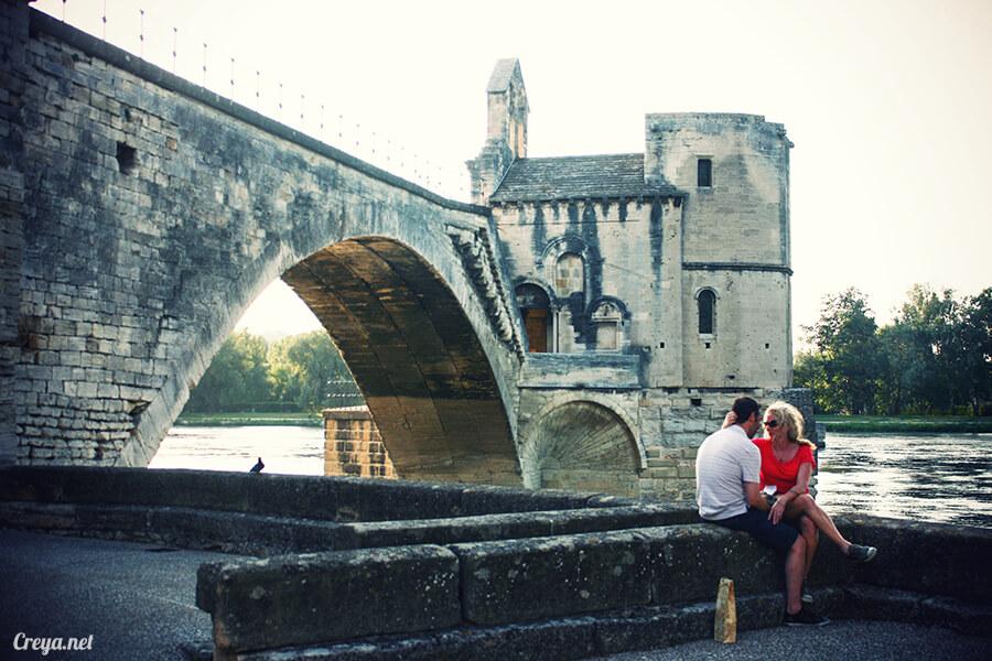2016.10.16 ▐ 看我的歐行腿▐ 夕陽西下更美麗的南法普羅旺斯古城,亞維儂 19