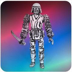 The Space Samurai!!!!!!! (skipthefrogman) Tags: skipbro custom cast bootleg art toy action figure