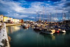 Ramsgate reflections (@bill_11) Tags: ramsgate harbour boats colours colors reflections marina kent uk