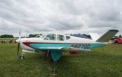N4270D Bonanza, Oshkosh (wwshack) Tags: airventure2016 beech35 beechcraft bonanza eaa eaaairventure kosh osh oshkosh usa unitedstates whittmanregional wisconsin n4270d