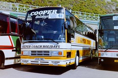 48 D516SWE (pjlcsmith2) Tags: 33rdbritishcoachrally1987 brighton cooperstours d516swe scania k112crs plaxton paramount