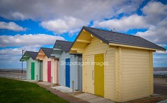 beach huts (Snapdragon Lincs) Tags: mablethorpe beach huts colourful bright coast lincolnshire blue skies seaside