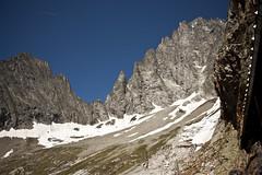 Aiguille Noire de Peuterey (dafnemunaretto) Tags: aiguillenoire aigulle noire peuterey bivacco bivaccoborelli montebianco montblanc mountain montagne climbing power risk