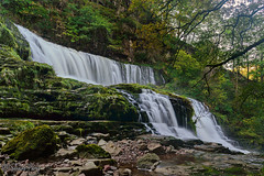 Sgwd Isaf Clun-gwyn (parry101) Tags: sgwd isaf clun gwyn south wales waterfall waterfalls brecon beacons national park pontneddfechan landscape water outdoor falls long exposure