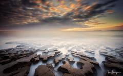 Jigsaw Rocks ( Ian Flanagan) Tags: rocks jigsaw lownewton sunrise tide sea coast northumberland longexposure