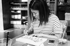 DSC01721 (dzintarix) Tags: shanghai drawing sketching lujiazui jinmao