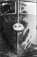 Corvette - Parsonsfield, ME (gastwa) Tags: nikon f6 58mm f14g afs prime lens kodak tmax 400 film black white bw blackandwhite monochrome analog car auto corvette parsonsfield maine newengland travel transportation andrew gastwirth andrewgastwirth