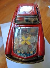 juguete_DSCN4493 copy (darioalvarez) Tags: autoclssicoporto2016 octubre2016 oporto portugal cochesclsicos juguete brinquedo japons mercedesbenzsl