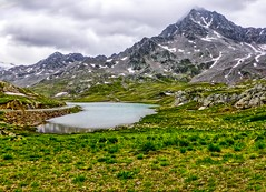 Lago Bianco - Passo Gavia (2621m) (frodeturer (check albums for themes / places)) Tags: pass passo gavia italy alps alpine road highest paved mountain lake