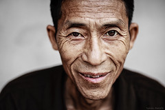 Straight in the eyes (Asian Hideaways Photography) Tags: asia asian candid hagiang hmong individuals travelphotography vietnam vietnamese eyes man outdoor portrait wrinkles
