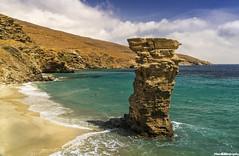 GRIA BEACH, ANDROS, HELLAS (zarikosdimitrios) Tags: island beach andros hellas