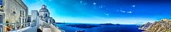 Santorini Fira Panorama (Ping Poco) Tags: santorini greece aegean color sky blue サントリーニ エーゲ海 ギリシャ cyclades 青 白 空 fira oia imerovigli firostefani kamari perissa pyrgos カマリ ペリッサ ピルゴス イメロビグリ フィロステファニ フィラ イア travel 旅行thira greek thera θηρα σαντορίνη griekenland griechenland ελλάδα ελληνικήδημοκρατία grèce grecia grécia yunanistan یونان гърция греция 希腊 grekland ελλάσ hellas grækenland görögország kreikka հունաստան řecko საბერძნეთი اليونان