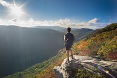 Pickens Nose (sfldp) Tags: northgeorgia northcarolina hiking mountains explore adventure wanderlust travel sunset fall autumn leaves exploring breathtaking sonya6300 rokinon12mm