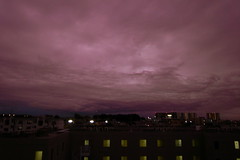 apocalypse brle (troutfactory) Tags:  clouds dark threatening gloomy brooding dusk  osaka  toyonaka  kansai  japan ricohgrd2 digital