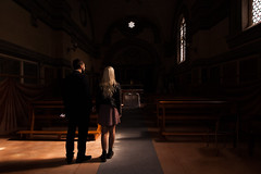 Pause (luce_eee) Tags: light church couple woman man shadow riflessione