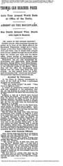 1908-07-31. Chicago Tribune. THOMAS CAR REACHES PARIS (foot-passenger) Tags: chicagotribune paris thomasflyer 1908 july newyorkparis