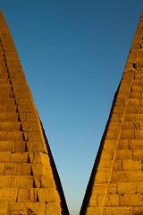 IMG_9225 -  Begrawiya Pyramids (or Meroe) (Stuart Butler / Oceansurf) Tags: africa portrait history tourism sahara temple desert african sudan nile adventure arab egyptian pyramids nubia nubians meroe royalcemetery archeolgical begrawiya kushites