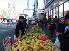 Fruit - 66/365 (Animcolate) Tags: street nyc fruit chinatown manhattan grapes fruitstand streetscenes streetvendor mangos