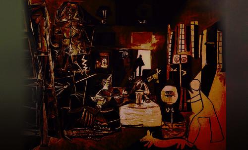 """Meninas, iconósfera de Diego Velazquez (1656), estudio de Francisco de Goya y Lucientes (1778), paráfrasis y versiones Pablo Picasso (1957). • <a style=""""font-size:0.8em;"""" href=""""http://www.flickr.com/photos/30735181@N00/8746857531/"""" target=""""_blank"""">View on Flickr</a>"""