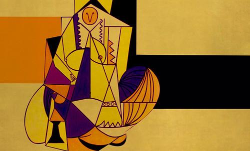 """Odaliscas (Mujeres de Argel) yuxtaposición y deconstrucción de Pablo Picasso (1955), síntesis de Roy Lichtenstein (1963). • <a style=""""font-size:0.8em;"""" href=""""http://www.flickr.com/photos/30735181@N00/8748003160/"""" target=""""_blank"""">View on Flickr</a>"""