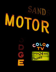 Sands Motor Lodge - Eatontown, NJ. (Tony Zarak Photography) Tags: signs color sign night vintage hotel tv newjersey neon asburypark dive nj motel retro lodge signage jersey monmouth americana motor neonsign monmouthcounty endangered sands jerseyshore neptune midcentury vintagesign eatontown route35 motorlodge colortv eatontownnj motelsigns signporn sandsmotorlodge tvsigns tonyzarakphotography endangeredsign jerseyshoresigns eatontownsigns eatontownvintagesigns