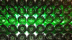 ChandonBottleWall.jpg (rowanf) Tags: napavalley wineries vinyards domainechandon