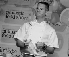 Chef Colin McGurran at Nigel Haworth's Fantastic Food Show - 3 (Tony Worrall Foto) Tags: show uk england food man celebrity cooking make festival fun demo northwest north restaurants tasty eaten blackburn event chef taste venue celeb nigel michelin reviews eatingout foodie asl chefs haworth lancs foodphotography taster celebritychefs 2013tonyworrall nigelhaworthsfantasticfoodshowlancashirefoodfestival