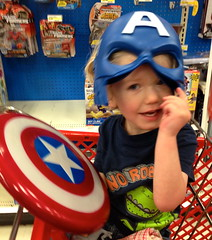 Captain America (halogencat) Tags: baby cute danger captainamerica avengers