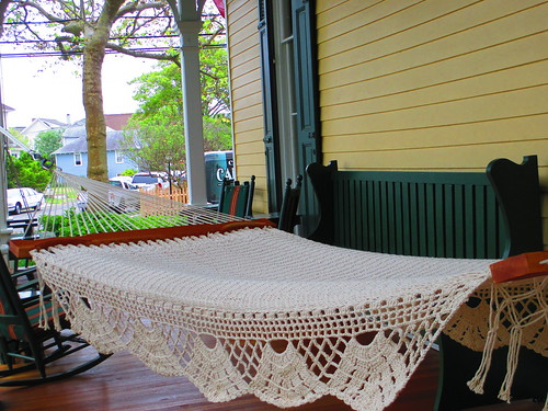 Mainstay Inn Porch, Hammock