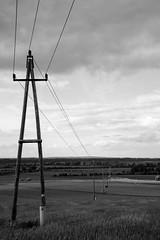 power pole (MaMaVe) Tags: landscape mast powerpole landschaft strommast