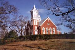 First Universalist Church---Camp Hill, Al. (bamaboy1941) Tags: church al oldbuildings camphill universalist smalltownamerica