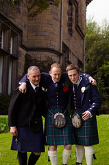 0037theboys01 (PauSmithPhotography) Tags: uk greatbritain wedding zoo scotland edinburgh marriage brideandgroom scottishwedding happyday manorhousezoo