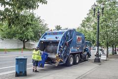 Portland_Garbage (crainnational) Tags: oregon portland garbage or portlandor publicworks garbagetruck