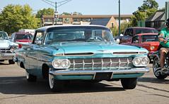 1959 Chevrolet Impala Sport Sedan (SPV Automotive) Tags: 1959 chevrolet impala sport sedan classic car blue